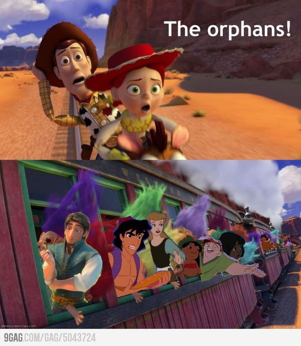 orphan care in popular movies