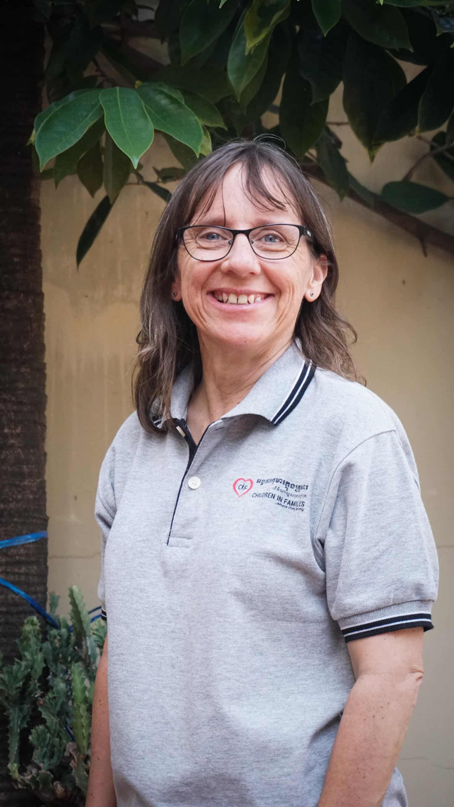 Bridget now volunteers as an educational consultant for CIF