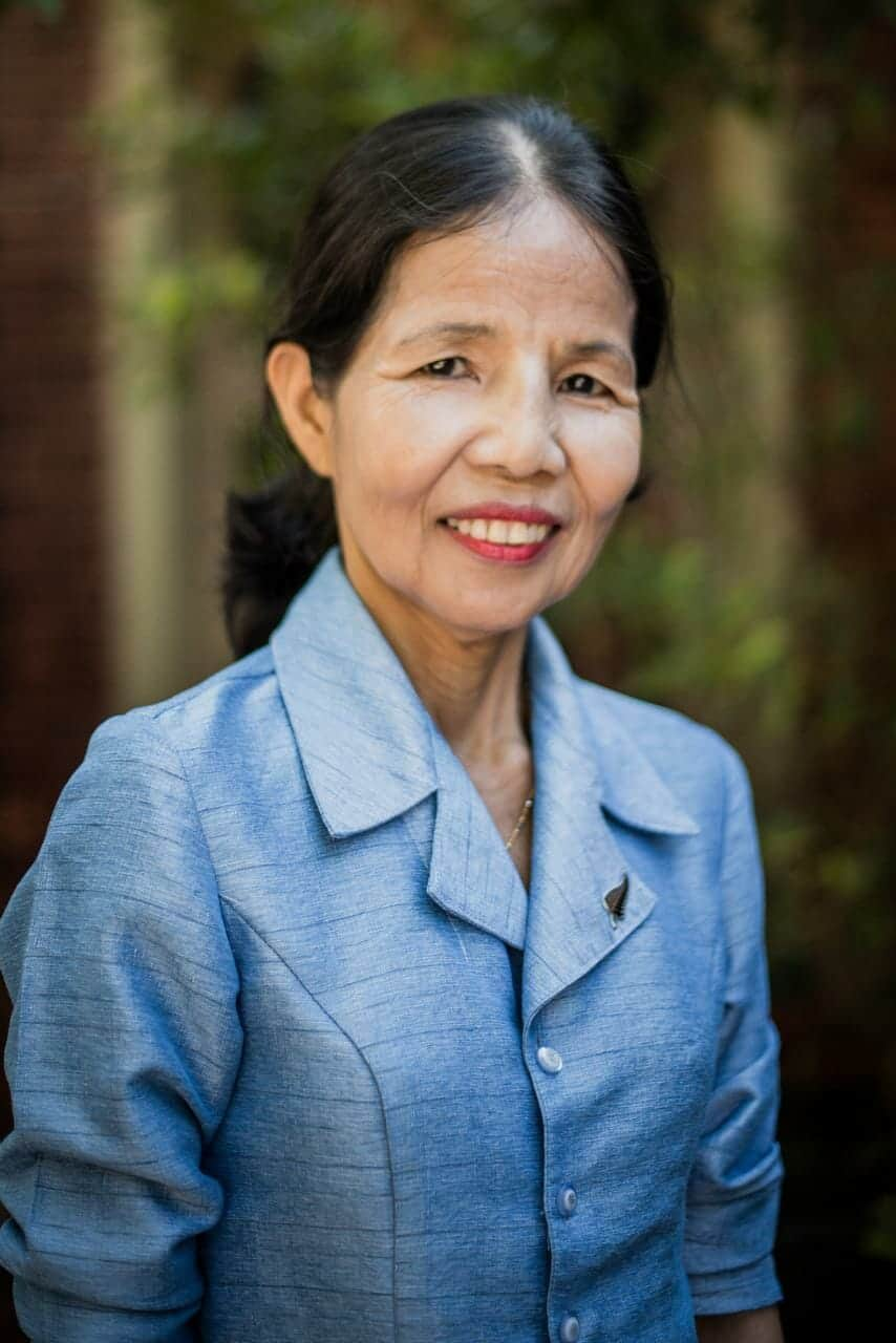 Ravy Keo is the founder and National Director of Children in Families Cambodia